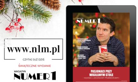 Pasjonaci przy wigilijnym stole. Świąteczne wydanie magazynu Numer1 – grudzień 2015