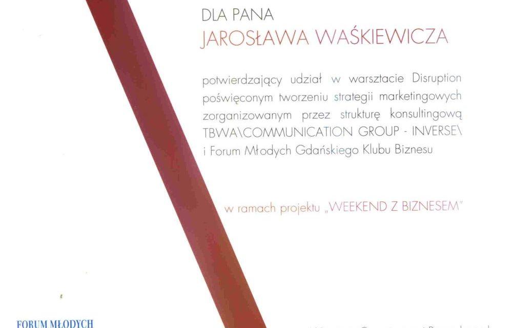 DISRUPTION, czyli warsztaty strategiczne z TBWA. Rok 2006