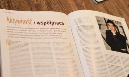 """""""Aktywność i współpraca przede wszystkim"""" Wywiad dla EURO Styl Magazine. Rok 2007"""