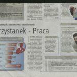 """""""Przystanek PRACA"""" – warsztaty dla studentów i bezrobotnych. Rok 2003"""
