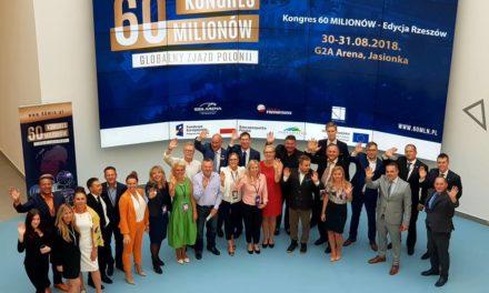 Kongres 60mln – globalny Zjazd Polonii na Podkarpaciu, 30-31 sierpnia 2018 – relacja