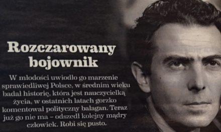 Prof. Karol Modzelewski o sprawiedliwości społecznej, wolności, równości, braterstwie…