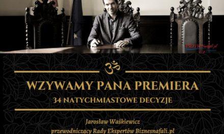 """Na ratunek przedsiębiorcom. """"Wzywam Pana Premiera"""". Koronawirus a przyszłość polskiej gospodarki"""