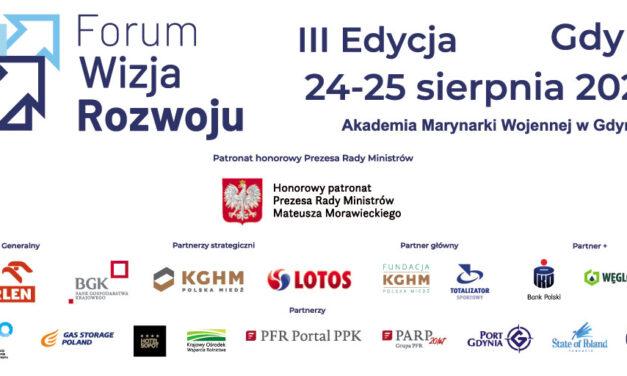 Patronujemy największemu wydarzeniu gospodarczemu 2020 w północnej Polsce – Forum Wizja Rozwoju