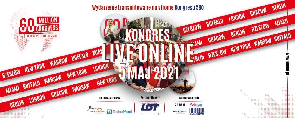 """""""Globalny Zjazd Polonii – Kongres 60mln"""" pod patronatem Biznesu na fali i Marka jest kobietą"""